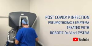 ROBOTIC TREATMENT TO POST COVID19 INFECTION
