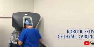 ROBOTIC EXCISION OF THYMIC CARCINOMA